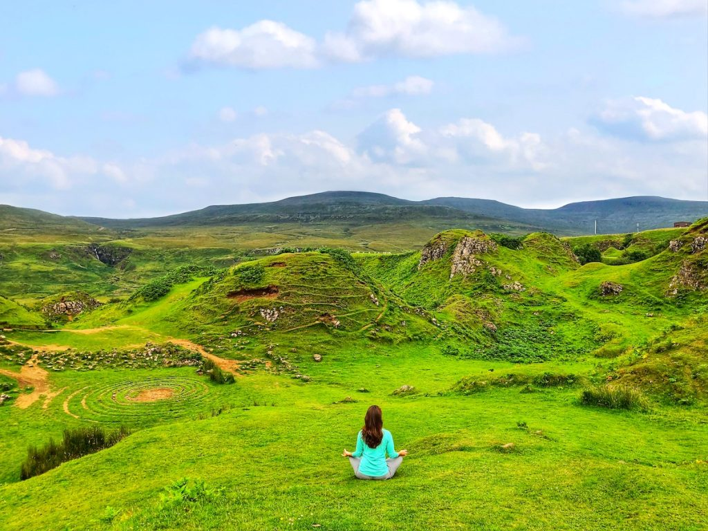 Scotland photo tour including photo of Fairy Glen on the Isle of Skye