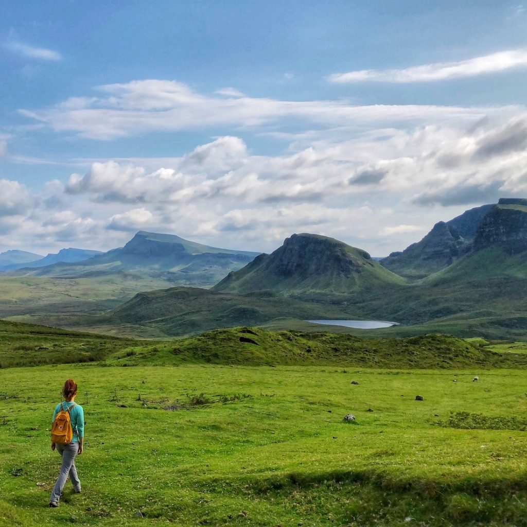 Scotland photo tour including photo of The Quiraing on Isle of Skye