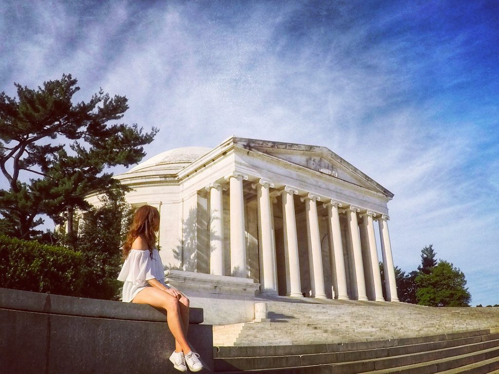 Photo of Jefferson Memorial in Washington D.C