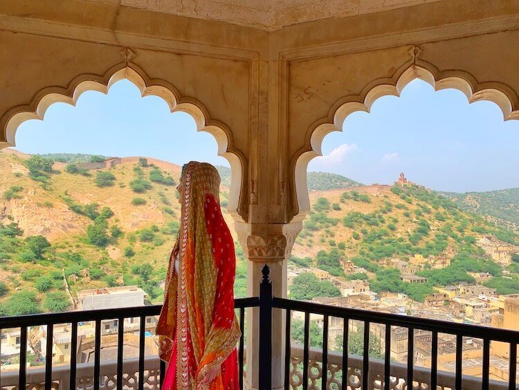India photo tour including Agra Fort Instagram worthy views from the lookout towers