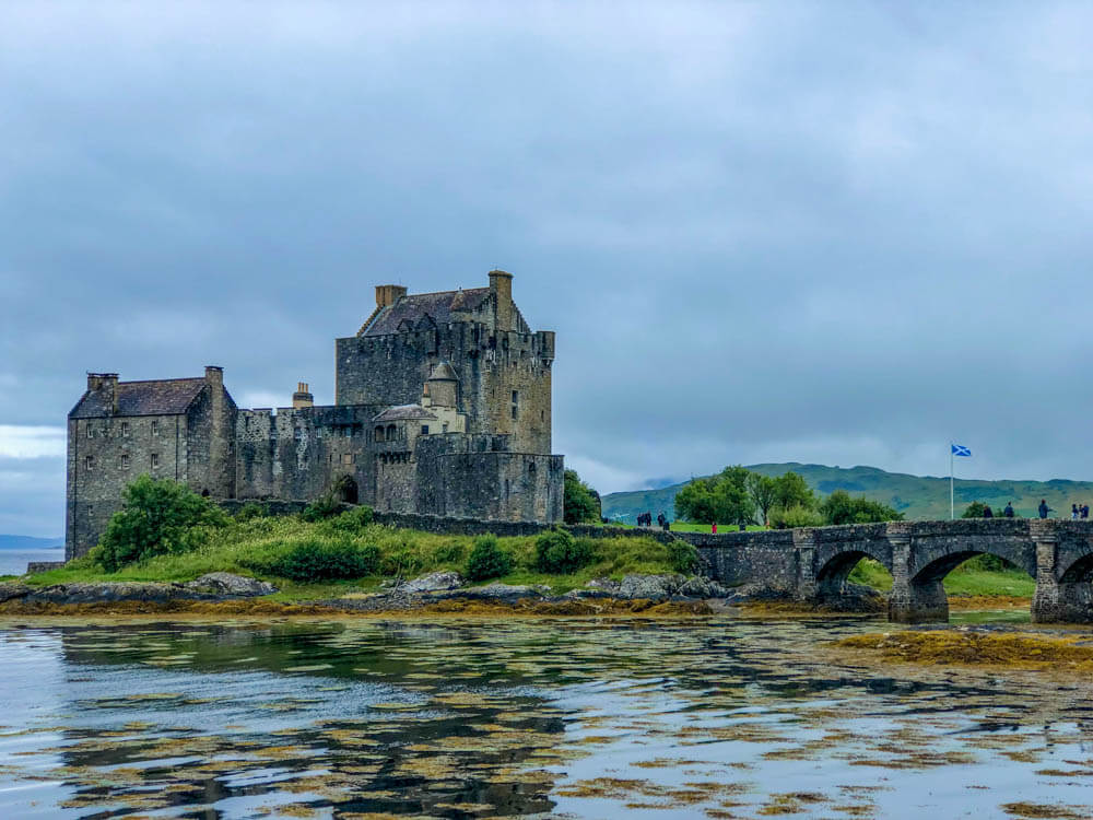 Scotland photo tour including photo of Eilean Donan Castle, Scotland