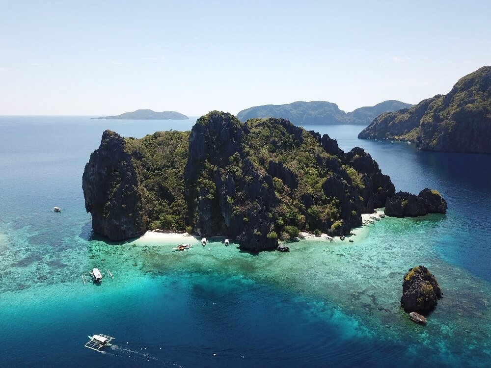 Philippines Photo of  a drone shot of el Nido Islands